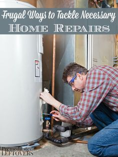 Frugal Ways to Tackle Necessary Home Repairs- These 5 tips will help keep your costs and stress levels low when an emergency repair is needed in your house.