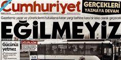 Cumhuriyet'Ten Tutuklamalara Manşetten Tepki: Gücünüz Yetmez, Hodri Meydan Haberi ve Son Dakika Haberler Mynet