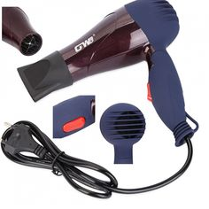 Foldable Hair Dryer Portable Home Use Travel Ceramic Styling Electric Blower New #Unbranded