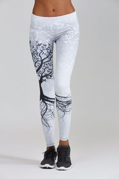7e754c430617d2 Tree of Life Legging - Nóli Yoga - 1 Sports Leggings, Printed Leggings,  Leggings