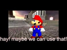 super mario 64 bloopers: crime time - YouTube