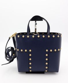 d377e5dcf090 NWT Tory Burch Block T leather Mini Tote Bag crossbody