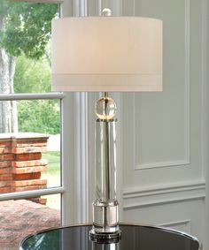 Crystal Column Lamp - LIGHTING - Table Lamps