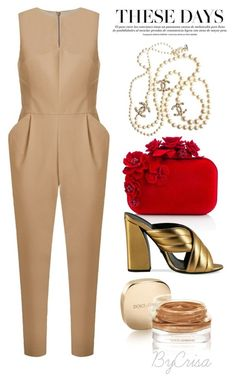 """Untitled #671"" by crisa-gloria-eduardo on Polyvore featuring Andrea Marques, Jimmy Choo, Gucci, Chanel and Dolce&Gabbana"
