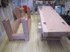 Image result for garage wood workbench