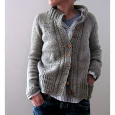 Isabell Kraemer Aileas Sweater Kit - Beat the Freeze - Collections Cardigan Pattern, Knit Cardigan, Knitting Patterns Free, Free Knitting, Free Pattern, Knitting Sweaters, Crochet Patterns, Knitting Needles, Knitting Projects