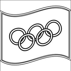 olympic flag coloring page google search