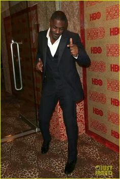 Idris elba en los globos de oro 2014