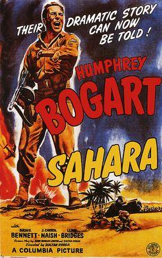 Sahara - 1943. #film movie #cinema #posters
