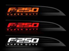 Ford F250 Illuminated Emblems