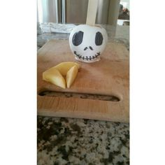 Jack skellington apple