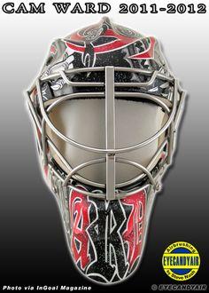 Cam Ward Goalie Mask
