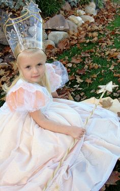 "Glinda Costume ""Wizard of Oz"""