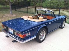 1976 Triumph TR6 Would like to have one of these one day.