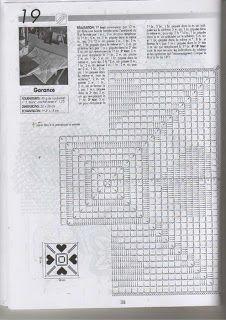 valentine craft ideas: crochet heart doily for your home, crochet pattern photo: liveinternet. Crochet Doily Diagram, Filet Crochet Charts, Knitting Charts, Crochet Squares, Crochet Granny, Crochet Motif, Crochet Doilies, Thread Crochet, Crochet Stitches