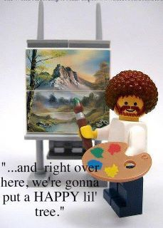 Oh, Bob Ross...how I used to LOVE to watch him and listen to his soothing voice!