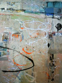 Shaker Loops, 48 x 36, Leslie Allen at Donna Seager Gallery
