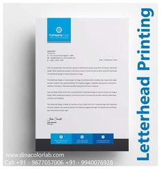 Letterhead Printing, Letterhead Design, Branding Ideas, Custom Design, Print Design, Company Logo, Layout, Happy, Prints
