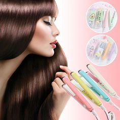 Short Thin Hair, Short Hair With Layers, Short Hair Cuts For Women, Long Pixie Cuts, Pixie Hairstyles, Pixie Haircut, Short Haircuts, Hair Curler, Bouncy Curls