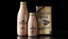 Lifestyle : What Makes Whittaker's and Lewis Road Creamery Such A Popular Product? Tim Tam, Vodka Bottle, Nom Nom, Delish, Milk, Chocolate, Lifestyle, Drinks, How To Make
