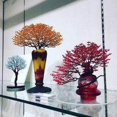 Невероятные деревьябонсай с кронами из тысяч крошечных оригами журавлей. | Colors.life
