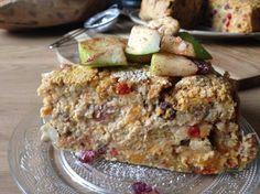 recept monique's smultaart van voedingsdeskundige Monique van der Vloed Stevia, Banana Bread, Snacks, Cake, Desserts, Food, Natural, Tailgate Desserts, Pie