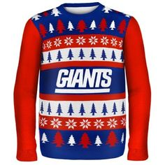 New York Giants Wordmark Ugly Sweater 9933ebf8dca92