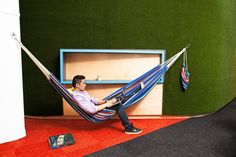 LivePerson #office with an #hammock