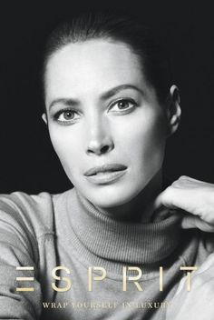 """Christy Turlington... Turlington gained fame in the late 80s and early 90s as a supermodel and was during the peak of her career as a top designer favourite.  She, Naomi Campbell and Linda Evangelista are called the """"Trinity"""" because of the power and fame that all three gained."""