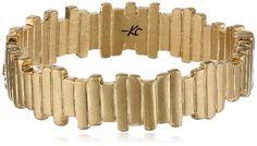 Kenneth Cole New York Sandstone Geometric Rectangle Hinged Bangle Bracelet Bangle Bracelets, Bangles, Fashion Accessories, Jewlery, Gold, Design, Women, Clothes, Bracelets