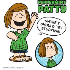 Peppermint Patty!