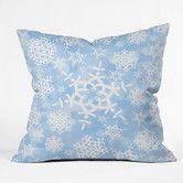 Found it at Wayfair - Lisa Argyropoulos Snow Flurries Throw Pillow