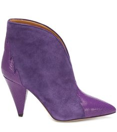76356c3c063db Shop Archee suede ankle boots presented at one of the world s leading online  stores for luxury fashion.