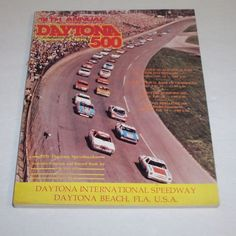 Vintage Daytona 500 1976 Race Program Nascar Racing 18th Annual Line Up