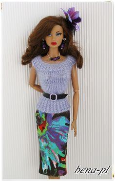 Bena PL Clothes for Silkstone Vintage Barbie Fashion Royalty OOAK Outfit | eBay