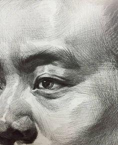 Portrait Sketches, Pencil Portrait, Portrait Art, Portraits, Drawing Sketches, Cool Art Drawings, Beautiful Drawings, Figure Drawing, Painting & Drawing