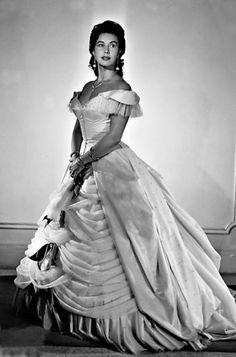 "Lisa della Casa, Swiss soprano (1919-2012), famous for her ""Arabella"" by Richard Strauss."