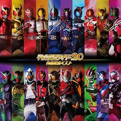 Movie and TV Soundtrack - Heisei Kamen Rider 20 Titles - Commemoration Best (Various Artists) Kamen Rider Decade, Kamen Rider Ex Aid, Kamen Rider Zi O, Kamen Rider Series, O Movie, Mobile Legend Wallpaper, Gotham Girls, Main Theme, Marvel Entertainment