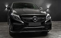 Indir duvar kağıdı Başlık, tuning, Mercedes-Benz GLE 63 AMG Coupe, 2017 arabalar, GLE63, SUV, Mercedes