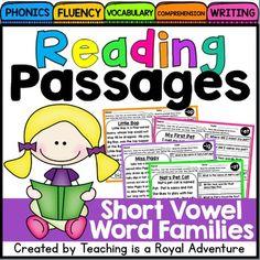 Short Vowel Reading