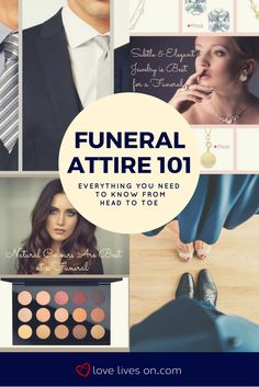 Your ultimate guide to funeral attire. Your complete head to toe guide for what to wear at a funeral.