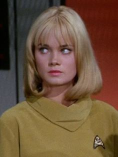 """Andrea Dromm portrayed Yeoman Smith in """"Where No Man Has Gone Before"""", the second pilot episode of Star Trek: The Original Series."""