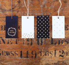 13 Holiday Gift Tag Printables