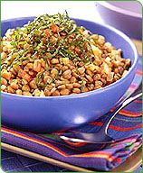 Weight Watchers Lentils with Garlic and Tomatoes  Serving Size: 3/4 cup  Points Plus Value: 4