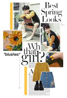 Untitled #520 by jonginswife on Polyvore featuring Miss Selfridge, The WhitePepper, H&M, kpop, EXO, SMent, chen and kimjongdae
