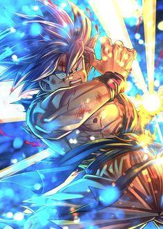 Dragon Ball Z Naruto Sazuke Goku Anime Character Fusion Art Digital Design