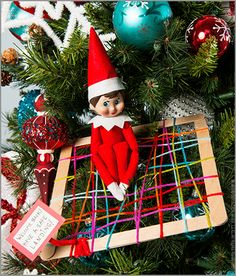 Scout Elf Return Week Idea: Make a Landing Net! | DIY Scout Elf Landing Net | #ScoutElfReturnWeek | Elf on the Shelf Ideas