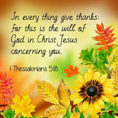 1 Thessalonians 5:18 KJV