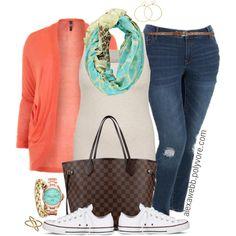 "#plus #size #outfit #alexawebb ""Plus Size - Travel Casual"" by alexawebb on Polyvore @alexandrawebb"