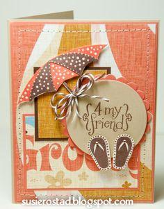 CTMH Beachy Friend card